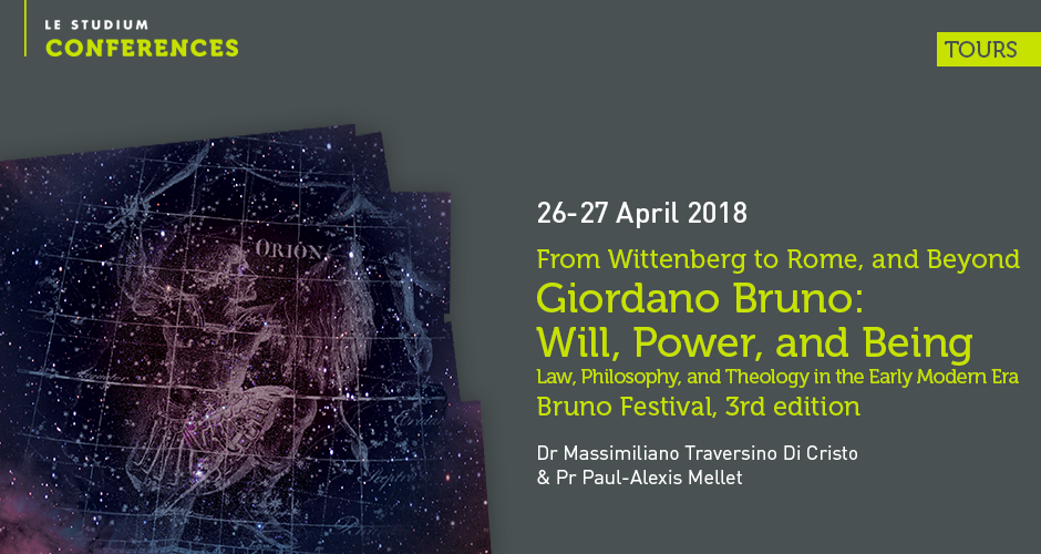 Giordano Bruno: Will, Power, and Being - Law, Philosophy, and Theology in the Early Modern Era