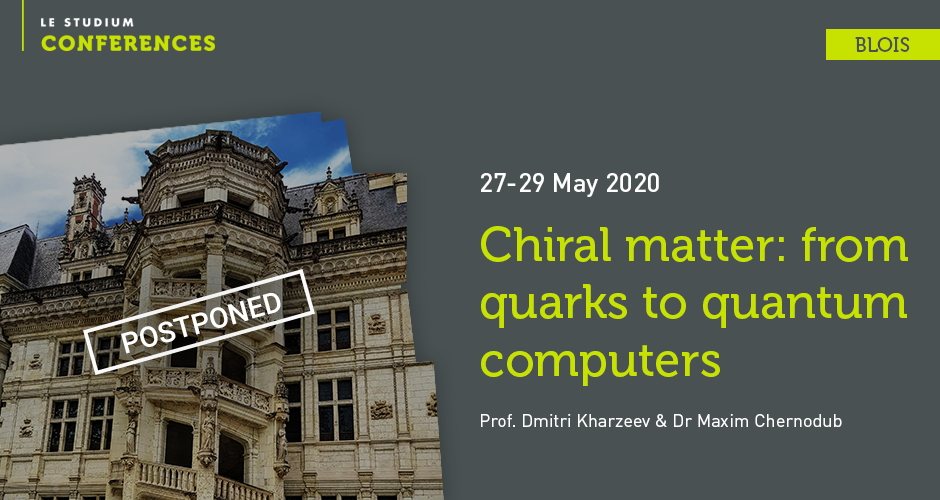Chiral matter: from quarks to quantum computers