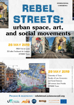 Rebel streets: urban space, art, and social movements