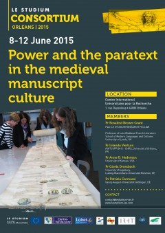 Power and the paratext in the medieval manuscript  culture