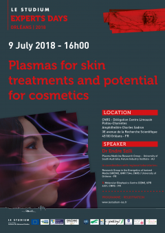 Plasmas for skin treatments and potential for cosmetics