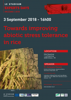 Towards improving abiotic stress tolerance in rice