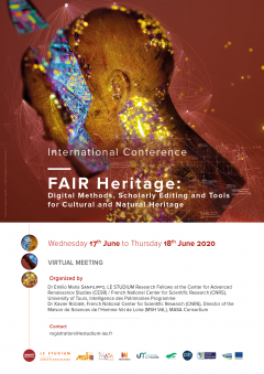Fair Heritage: Digital Methods, Scholarly Editing and Tools for Cultural and Natural Heritage