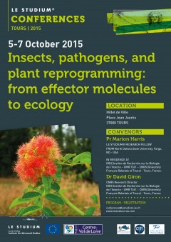 Insects, pathogens, and plant reprogramming: from effector molecules to ecology