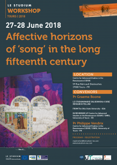 Affective horizons of 'song' in the long fifteenth century