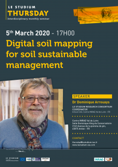 Digital soil mapping for soil sustainable management