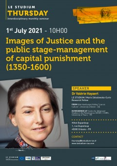 Images of Justice and the public stage-management of capital punishment (1350-1600)