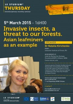Invasive insects, a threat to our forests. Asian leafminers as an example