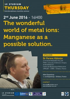 The wonderful world of metal ions: Manganese as a possible solution.
