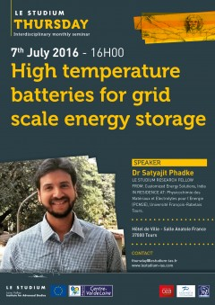 High temperature batteries for grid scale energy storage