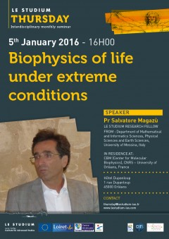 Biophysics of life under extreme conditions