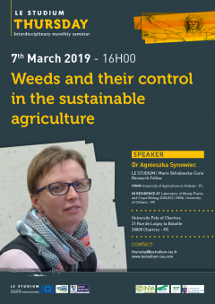 Weeds and their control in the sustainable agriculture