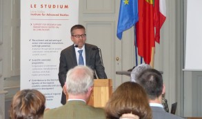 European Commissioner for Research, Science and Innovation, M. Carlos Moedas's visit to Hôtel Dupanloup - 13th September 2017