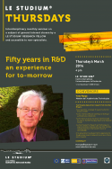 Fifty Years in R&D : An experience for tomorrow