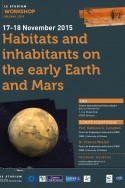 Habitats and inhabitants on the early Earth and Mars