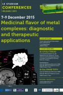 Medicinal flavor of metal complexes: diagnostic and therapeutic applications