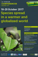Species spread in a warmer and globalized world