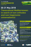 Transcultural Mediterranean: in search of non-orthodox and non-hegemonic universalism(s)