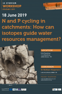 N and P cycling in catchments: How can isotopes guide water resources management?