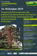 Targeting GPCR to generate life, preserve the environment and improve animal breeding: technological and pharmacological challenges
