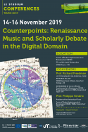 Counterpoints: Renaissance Music and Scholarly Debate in the Digital Domain