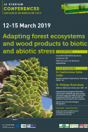 Adapting forest ecosystems and wood products to biotic and abiotic stress