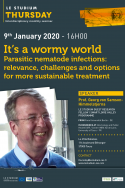 It's a wormy world - Parasitic nematode infections: relevance, challenges and options for more sustainable treatment