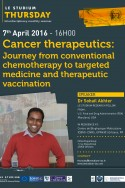 Cancer therapeutics: Journey from conventional chemotherapy to targeted medicine and therapeutic vaccination