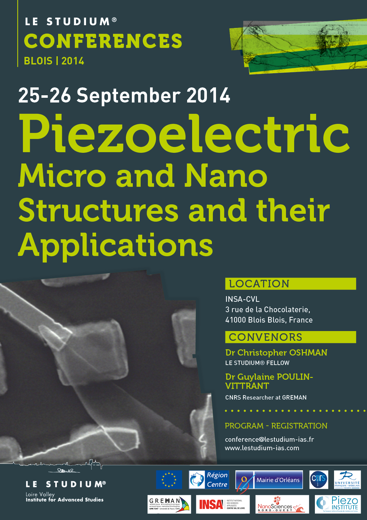 Piezoelectric Micro and Nano Structures and their Applications | LE