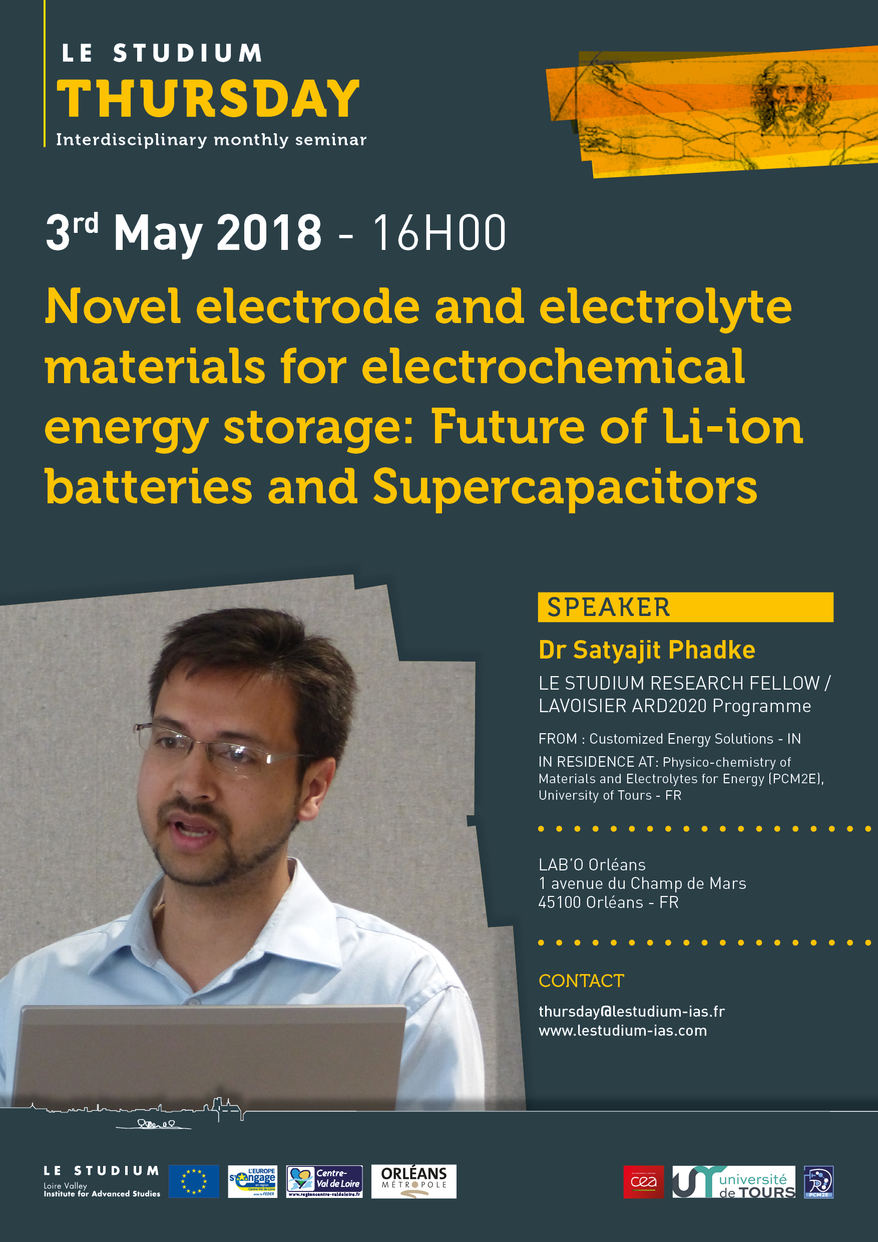 Novel electrode and electrolyte materials for