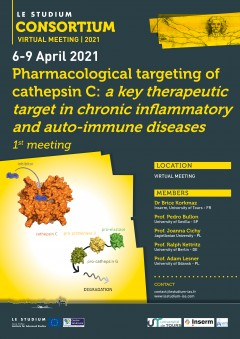 Pharmacological targeting of cathepsin C