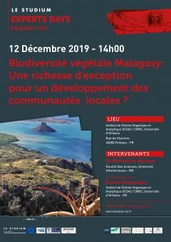 Biodiversité  végétale Malagasy : Une richesse d'exception pour un développement des communautés  locales ?