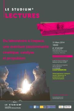Du laboratoire à l'espace, une aventure passionnante : cinétique, catalyse et propulsion
