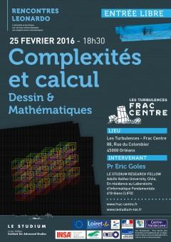 Complexités et calcul: Dessin & Mathématiques