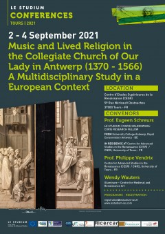 Music and Lived Religion in the Collegiate Church of Our Lady in Antwerp