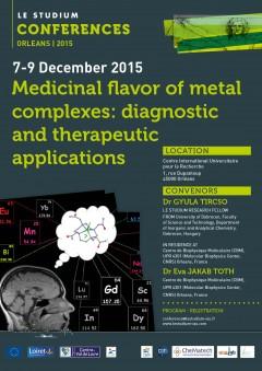 Medicinal flavor of metal complexes: diagnostic and therapeutic applications