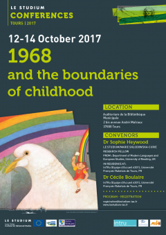 1968 and the boundaries of childhood
