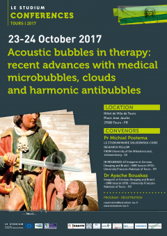 Acoustic bubbles in therapy: recent advances with medical microbubbles, clouds and harmonic antibubbles