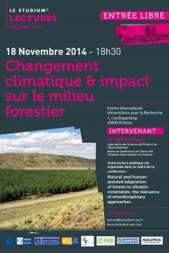 Changement climatique & impact sur le milieu  forestier