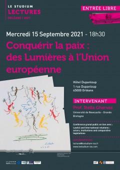 Conquérir la paix : des Lumières à l'Union européenne