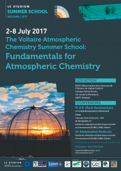 The Voltaire Atmospheric Chemistry Summer School: Fundamentals for Atmospheric Chemistry