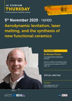 Aerodynamic levitation, laser melting, and the synthesis of new functional ceramics