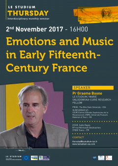 Emotions and Music in Early Fifteenth-Century France