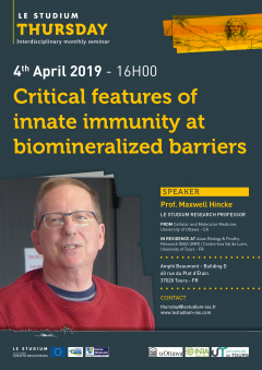 Critical features of innate immunity at biomineralized barriers