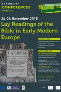 Lay Readings of the Bible in Early Modern Europe
