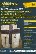 Assessment of Risk of Sexual Assault: Psychological adjustment, neuropsychological and psychiatric determinants