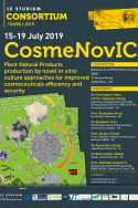 CosmeNovIC: Plant Natural Products production by novel in vitro culture approaches for improved cosmeceuticals efficiency and security