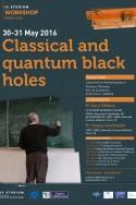 Classical and quantum black holes