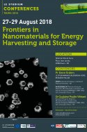 Frontiers in Nanomaterials for Energy Harvesting and Storage