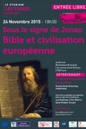 Sous le signe de Jonas:  Bible et civilisation européenne